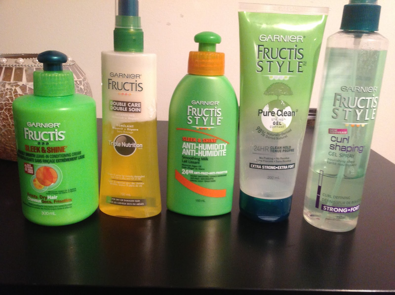 Diary Of A Trendaholic Garnier Fructis Hair Care Line