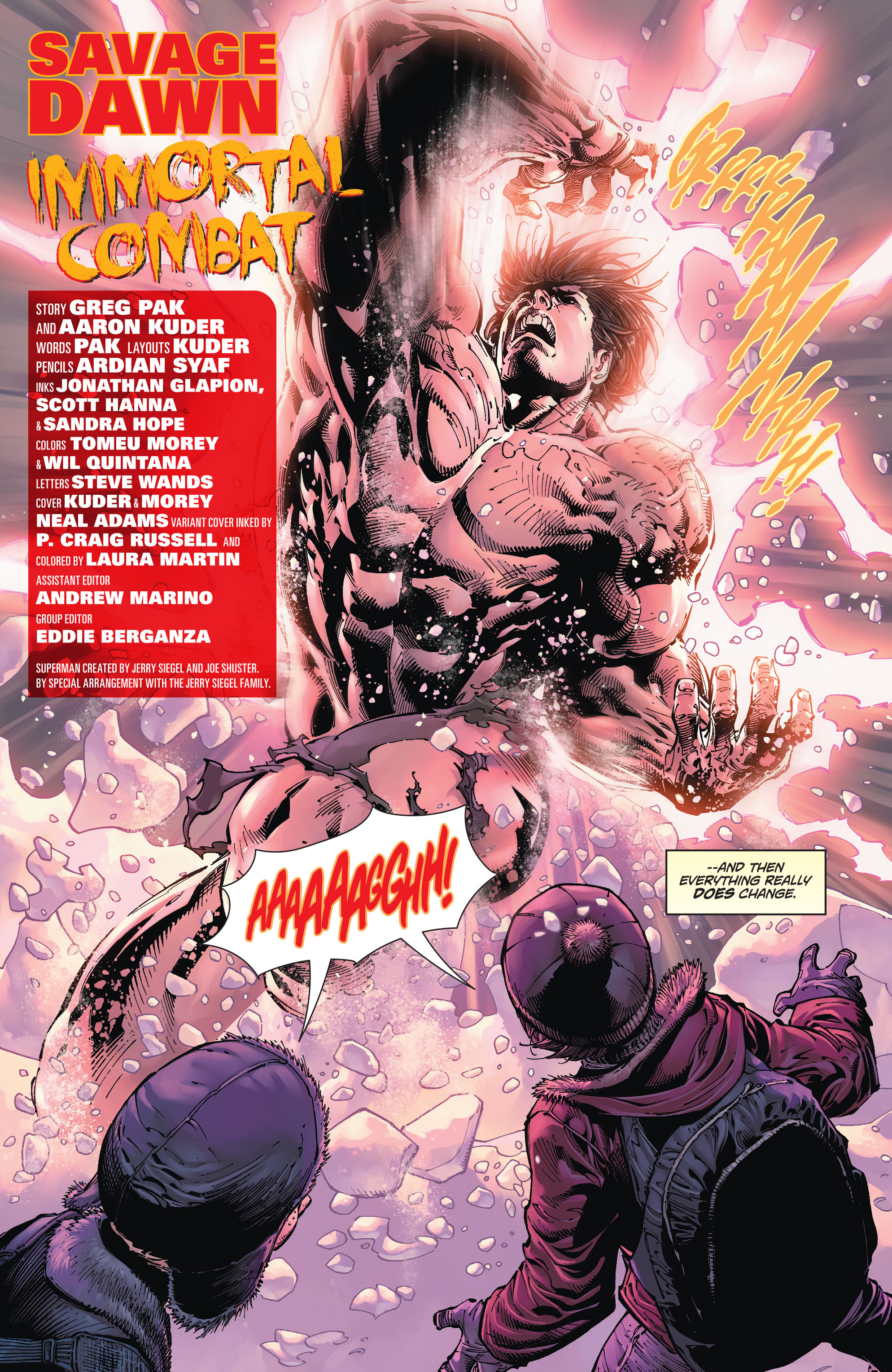 Read online Action Comics (2011) comic -  Issue #49 - 5