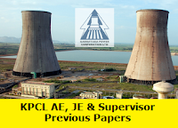 KPCL AE JE Previous Papers