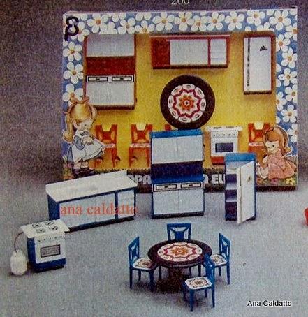 ana caldatto anos 80 mini moveis elka mobilia casinha de