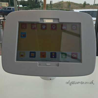 Tablets for customer use