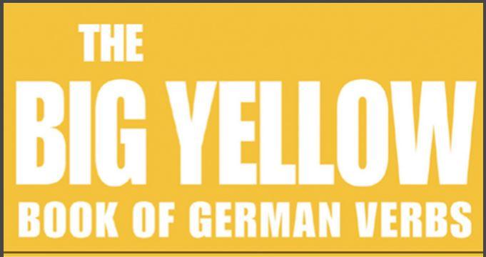 كتاب تصريف الأفعال الألمانية