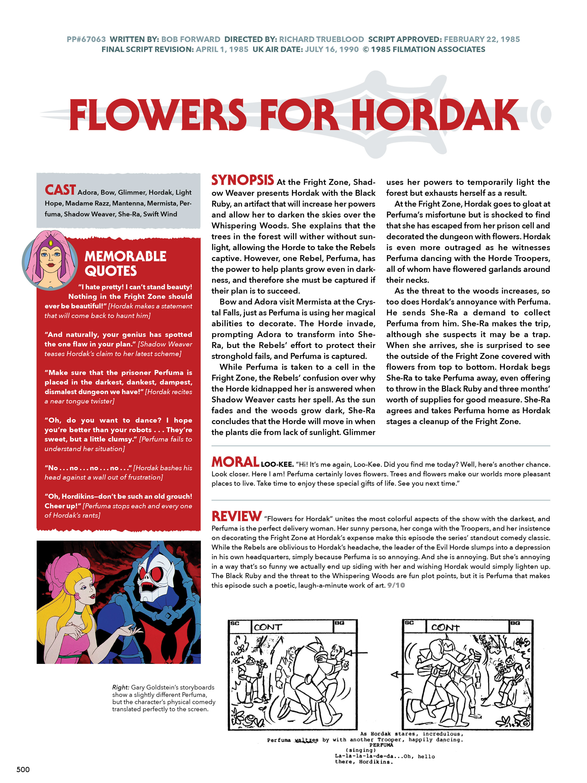 Read online He-Man and She-Ra: A Complete Guide to the Classic Animated Adventures comic -  Issue # TPB (Part 3) - 100