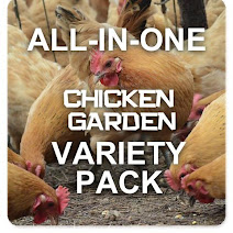 All-in-One Chicken Garden Variety Pack - Heal your Chickens Naturally!