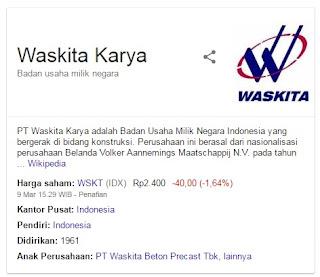 LOWONGAN KERJA BUMN PT. WASKITA KARYA PERSERO MAKSIMAL 15 MARET 2017