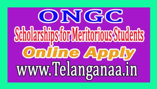 ONGC Scholarships for Meritorious Students Online Apply