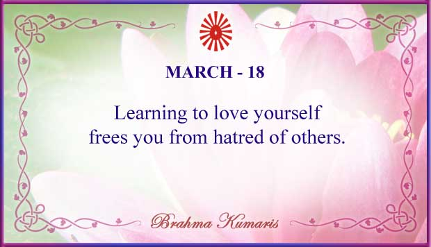 Thought For The Day March 18