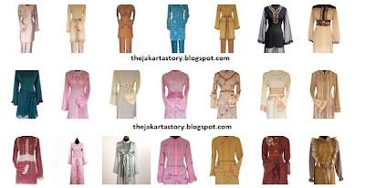 Model Baju Muslimah Dipadukan Motif Batik