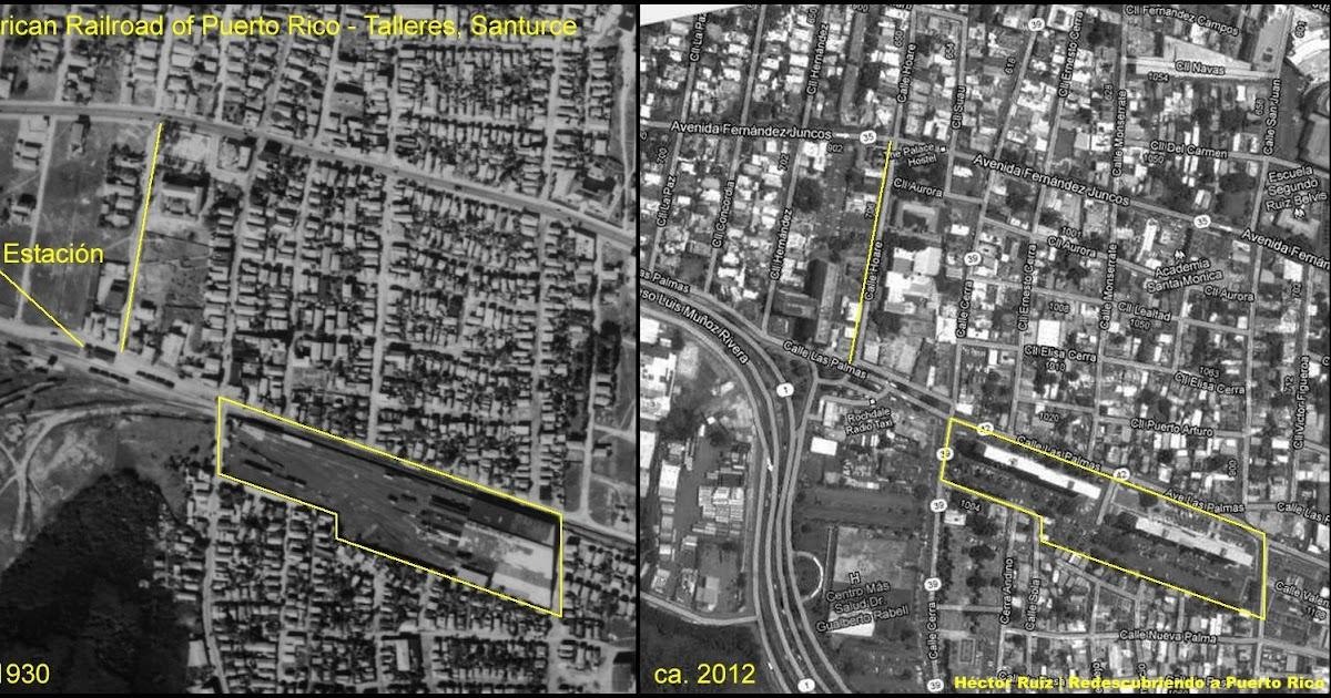 American Railroad - Estación Talleres ayer y hoy