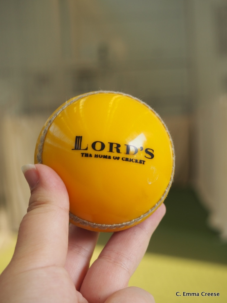 Touring Lord's Cricket Ground (and learning to bat with Matthew Hoggard)