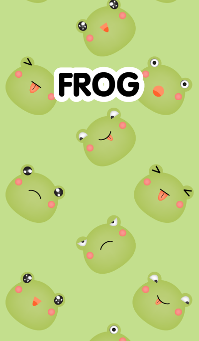 Emotions Face Frog Theme