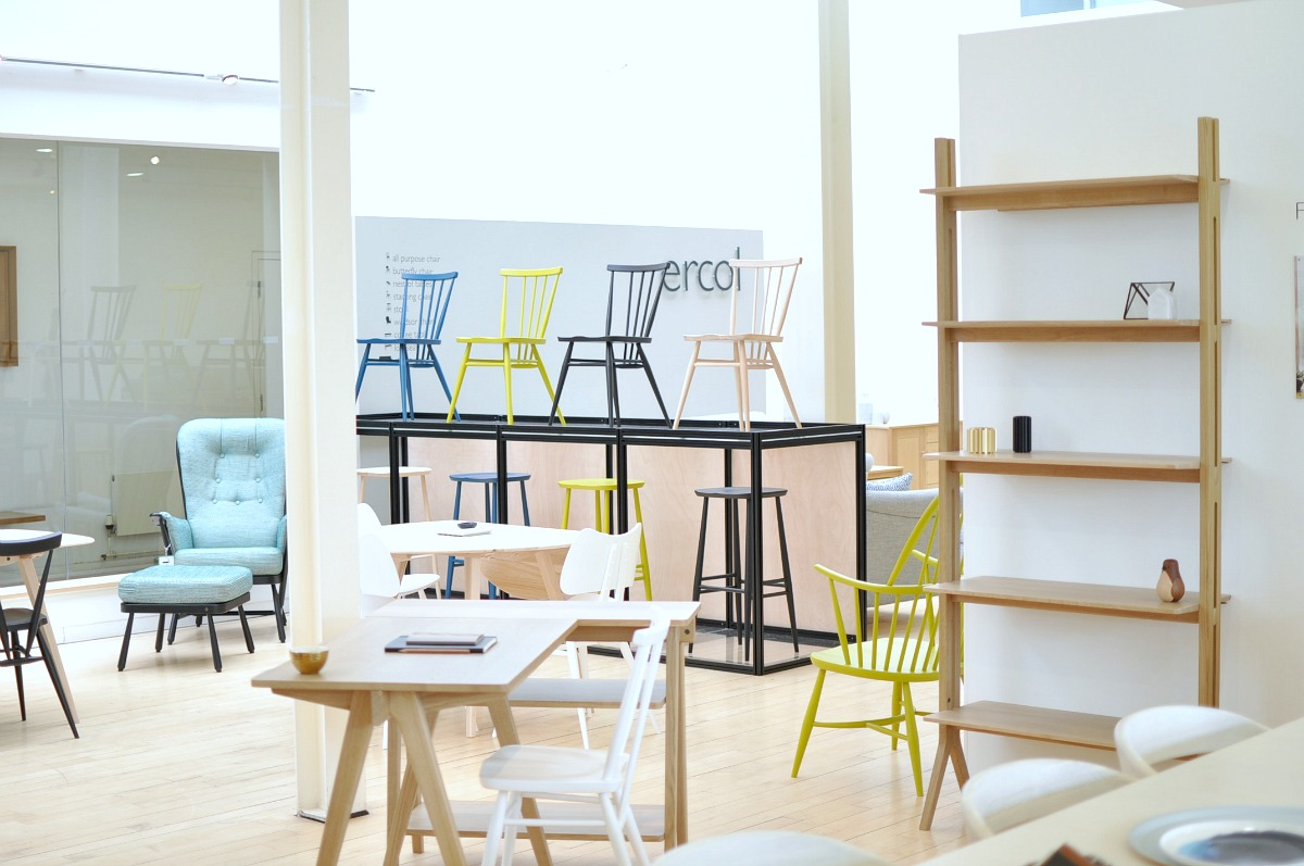 Ercol launch new iconic design for autumn 2017 wild grizzly for Interior alternatives manufacturers outlet mall