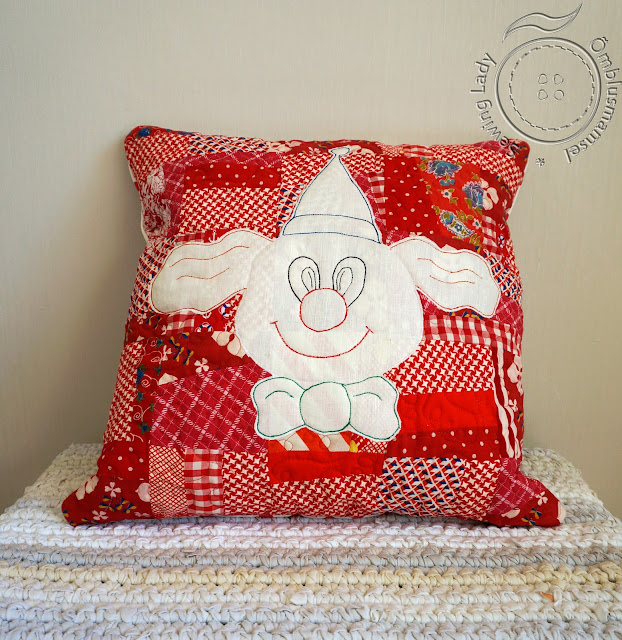 patchwork pillow,
