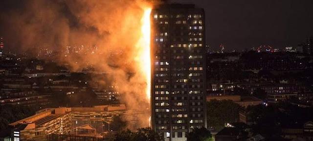 Τρομακτική φωτιά στο Λονδίνο -Καίγεται κτίριο 27 ορόφων -Εγκλωβισμένοι & τραυματίες