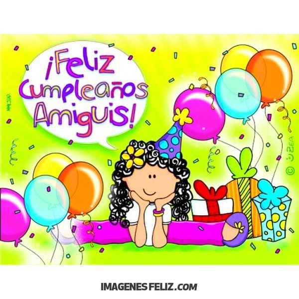 Feliz Cumpleanos Amiga Imagenes Frases Bonitas