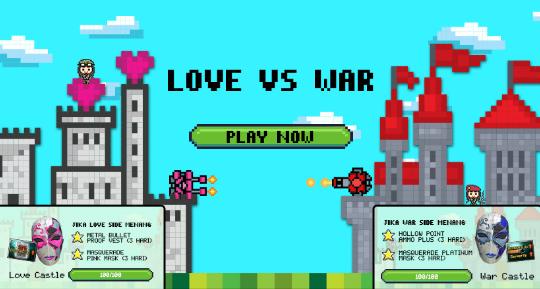 Syarat dan Ketentuan Event PB Garena Love vs War 2017 Valentine