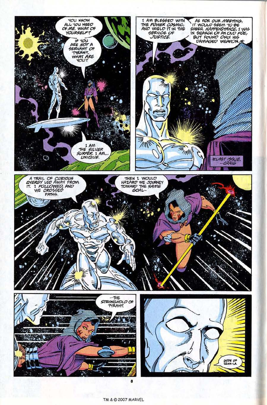 Read online Silver Surfer (1987) comic -  Issue #81 - 10