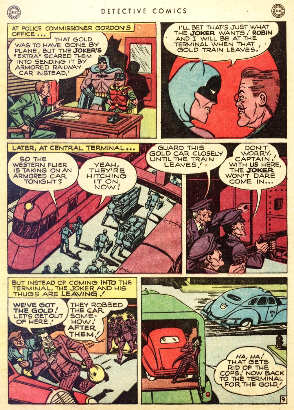 Read online Detective Comics (1937) comic -  Issue #128 - 11