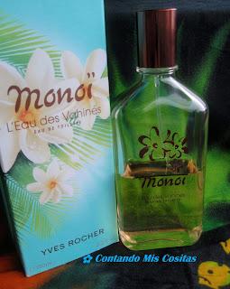 perfume monoi yves rocher