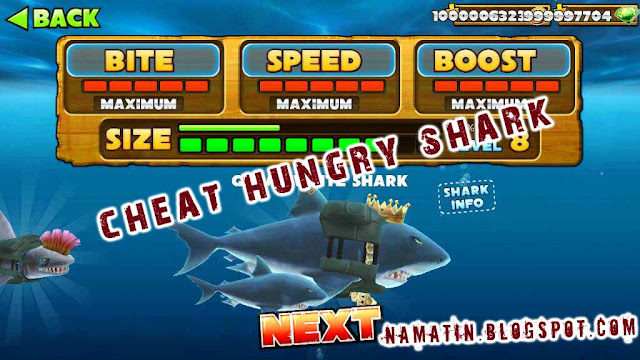 Cheat Hungry Shark Evolution Tanpa Root