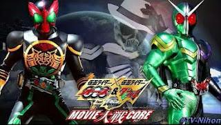 Kamen Rider × Kamen Rider OOO & W Featuring Skull Movie ...