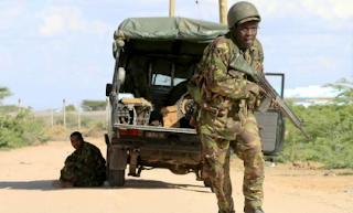 Kenyan Soldier