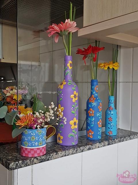 Decorando a casa com flores