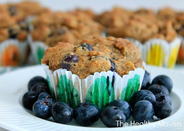 Gluten-Free Blueberry Bran Muffins