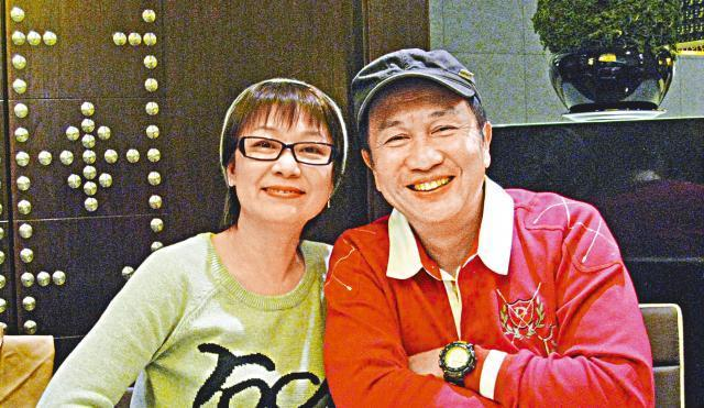 Susanna Au Yeung and her husband actor Samuel Kwok Fung.