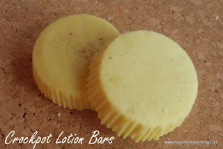 Slow Cooker Lotion Bars