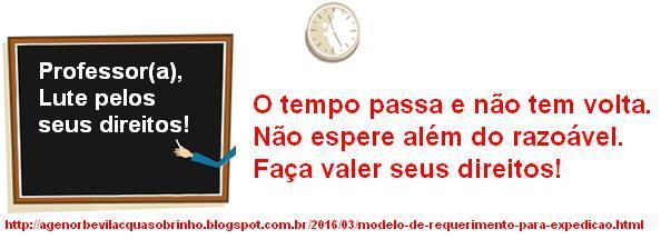 Blog Do Agenor Bevilacqua Sobrinho Modelo De Requerimento