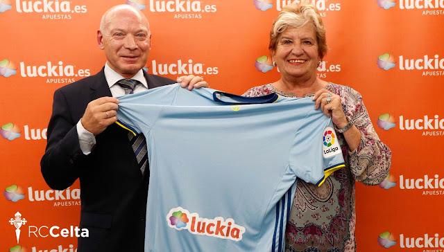 La empresa gallega Luckia, nuevo patrocinador del Celta