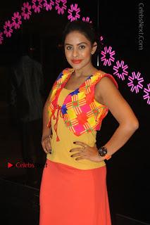 Telugu Actress Model Sri Reddy Latest Stills in Yellow Dress  0021.JPG