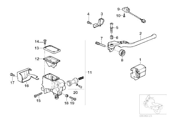 Harley Master Cylinder Diagram, Harley, Get Free Image