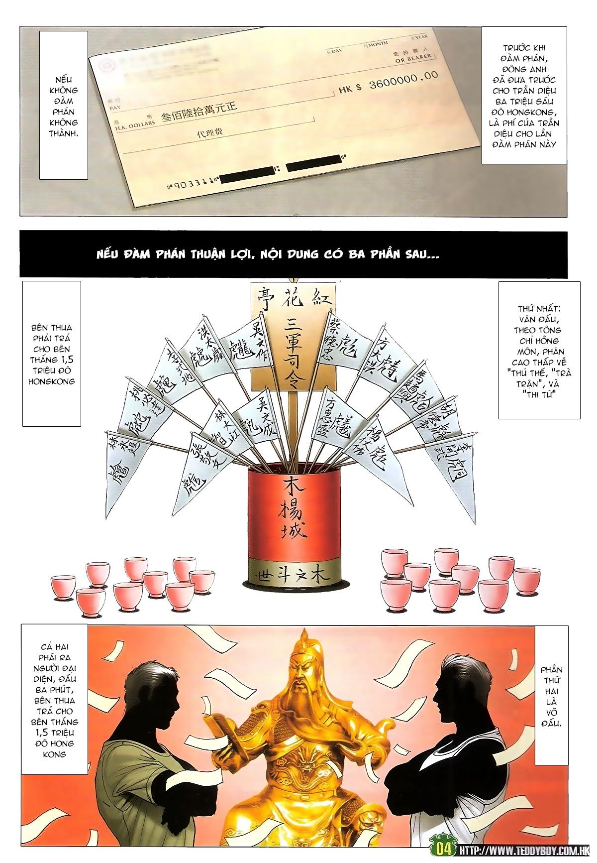 Người Trong Giang Hồ - Ngũ Hổ qui thiên - Chapter 1714: Trần Diệu vs Cổ Hoặc Luân - Pic 3
