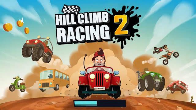 لعبة Hill Climb Racing 2