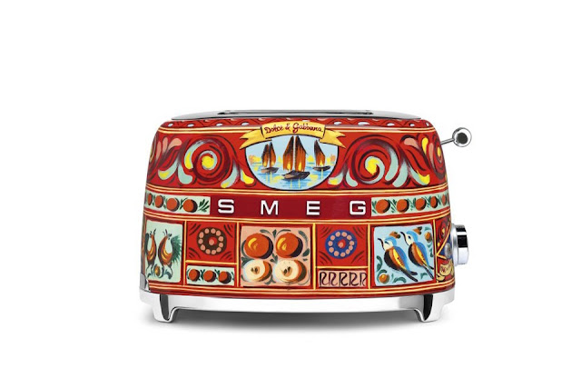 dolce gabbana smeg toaster