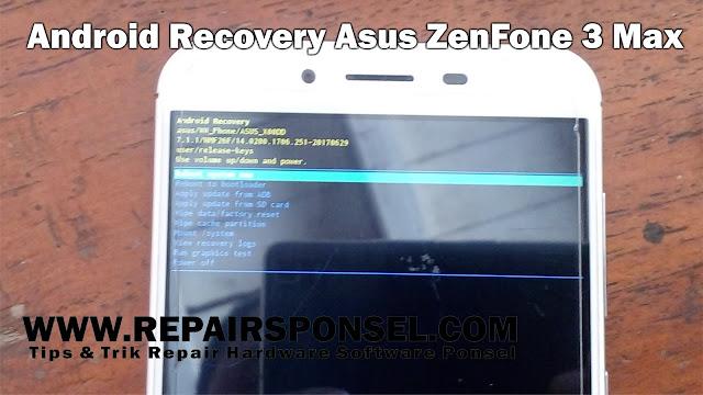 Hard Reset Asus ZenFone 3 Max X00DD (ZC553KL)