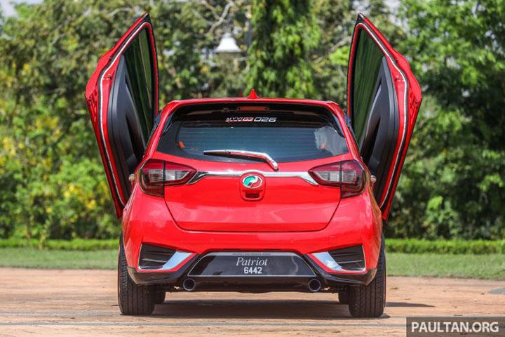 Gambar Myvi Lamborghini 1.5