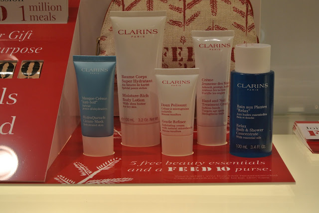 Clarins FEED 2016 Gift with Purpose & Fenwick Newcastle Event Saturday 1st October Image