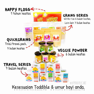 Babyfood Toddible Sangat Best !
