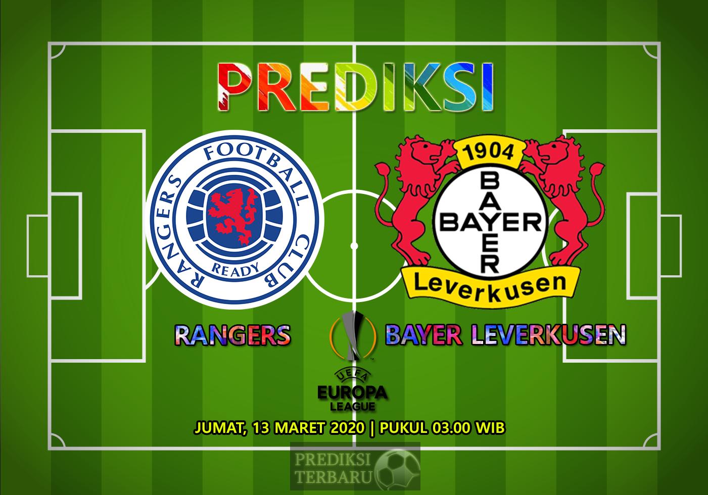 Prediksi Rangers Vs Bayer Leverkusen Jumat 13 Maret