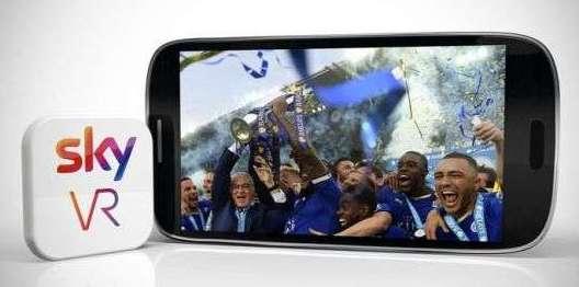 app sky per vedere contenuti multimediali con i VR (realtà virtuale)