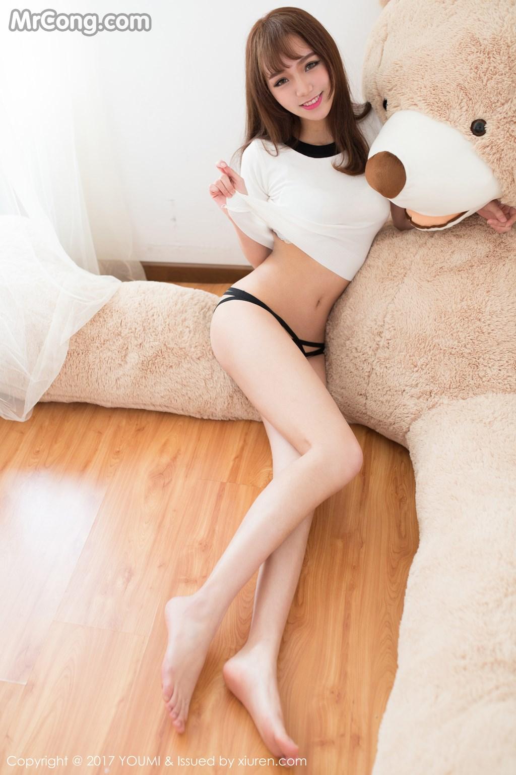 Image YouMi-Vol.014-Bu-Ning-Bling-MrCong.com-002 in post YouMi Vol.014: Người mẫu Bu Ning Bling (不柠bling) (53 ảnh)
