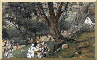 """Jesus Went Out into a Desert Place"" -- by James Tissot"