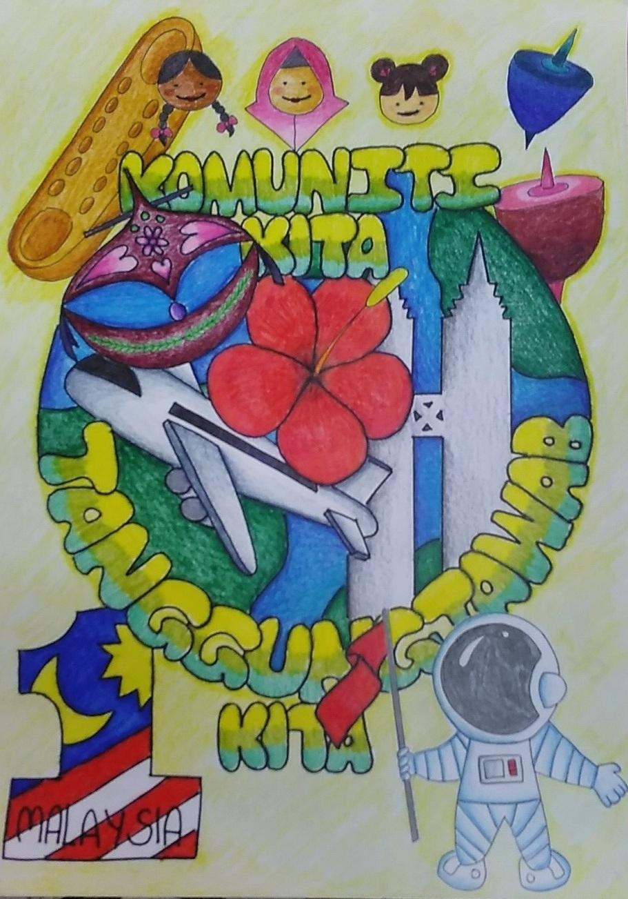 pertandingan melukis poster anti dadah 2019