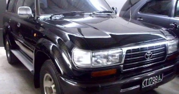 iklan bisnis samarinda dijual mobil samarinda toyota land cruiser vx 4x4 1997 warna hitam. Black Bedroom Furniture Sets. Home Design Ideas