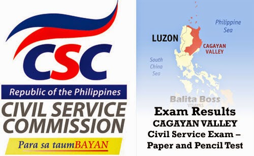 Region 2 - Civil Service Exam Results