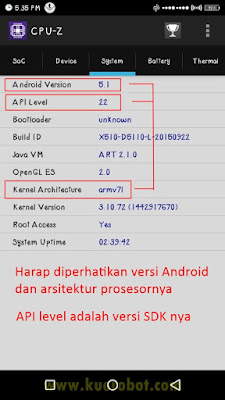 gambar aplikasi CPU-Z