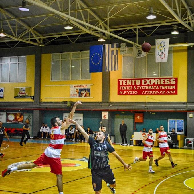 Φωτορεπορτάζ από τον αγώνα Αστέρας Πλαγιαρίου-ΑΕΕ Τούμπας για την Α΄ ΕΚΑΣΘ Ανδρών